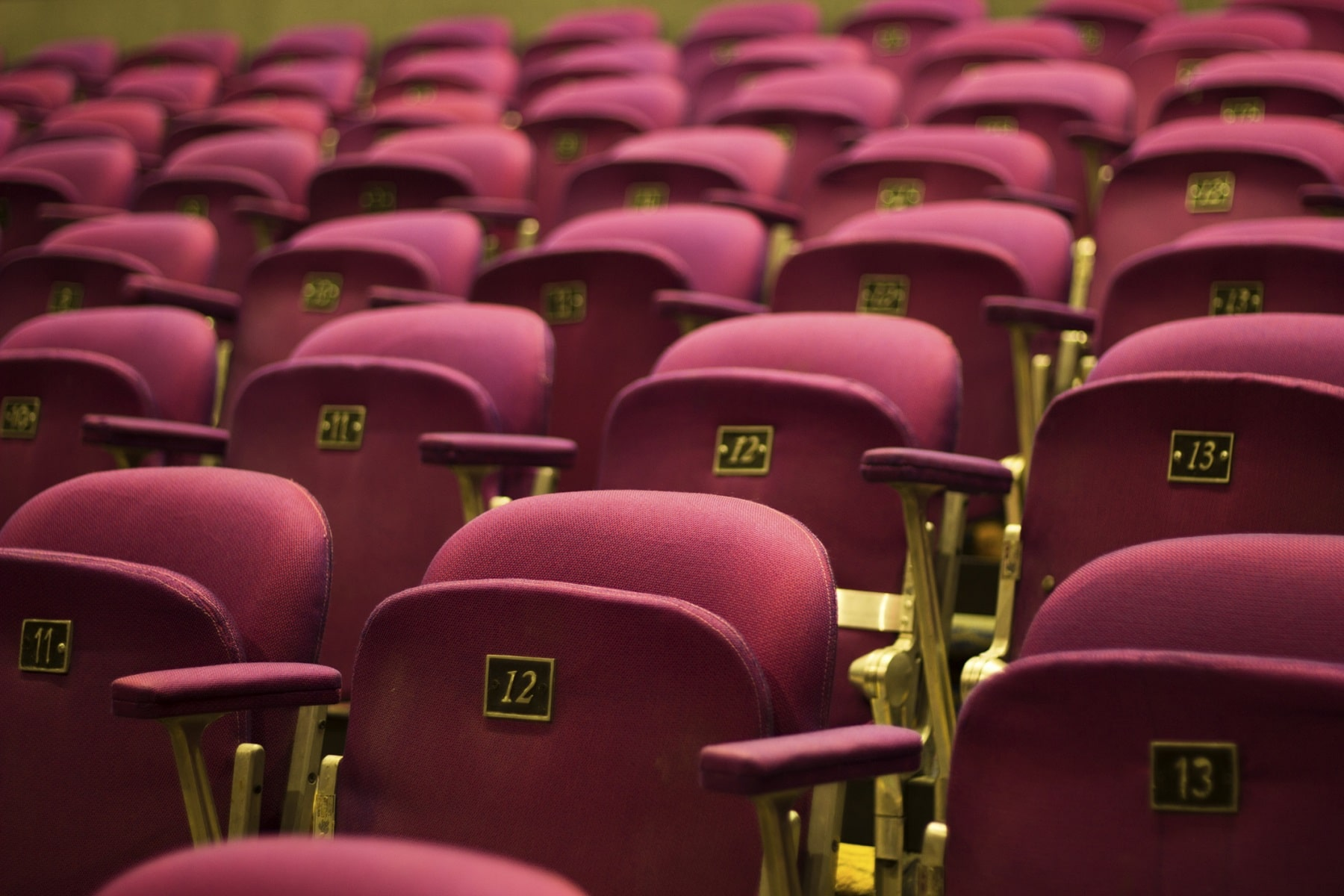 Seats in a Midtown Atlanta theater
