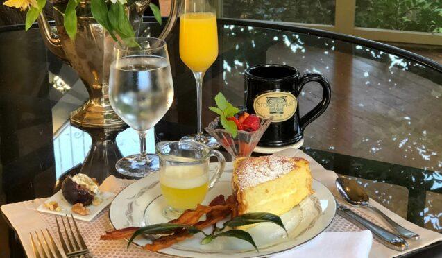 A breakfast dish at Stonehurst Place