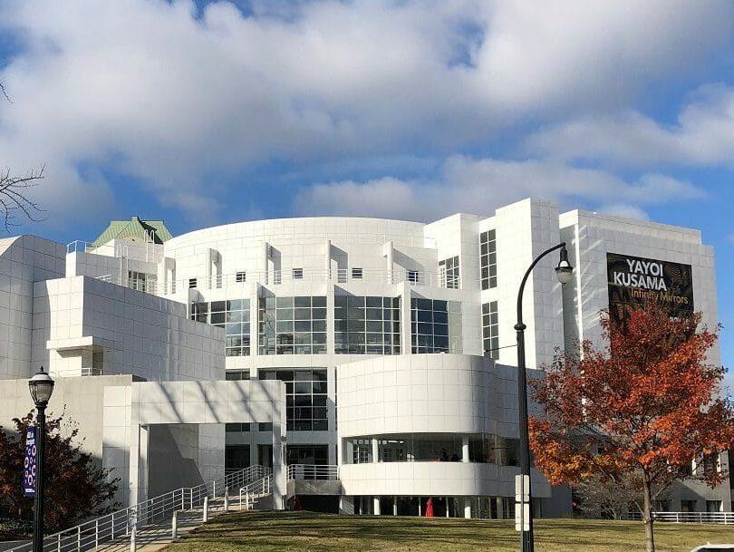Exterior white building High Museum of Art