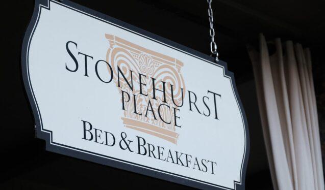 Stonehurst Place exterior sign